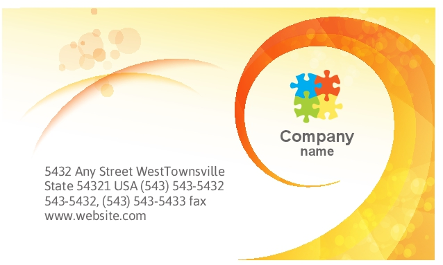 35x2 business card size orientation 35 x 2 horizontal card name abstract1051 reheart Gallery